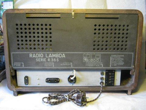 Radio LAMBDA R365M10
