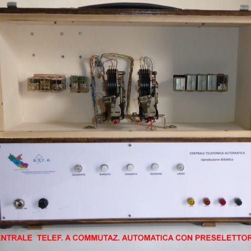 CENTRALE TELEF BCA.CON PRESEL