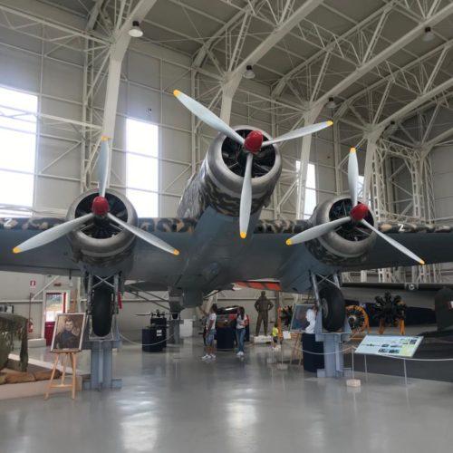 Visita al museo storico dell'aeronautica di Vigna di Valle 06