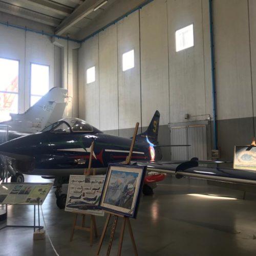 Visita al museo storico dell'aeronautica di Vigna di Valle 08