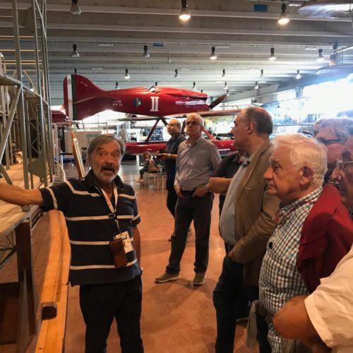 Visita al museo storico dell'aeronautica di Vigna di Valle 09