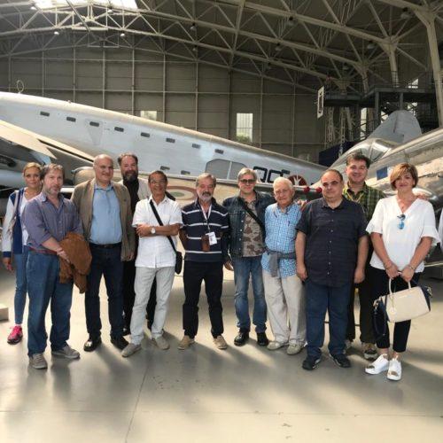 Visita al museo storico dell'aeronautica di Vigna di Valle 10